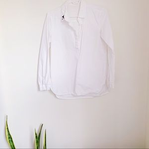 Tops - White button up shirt